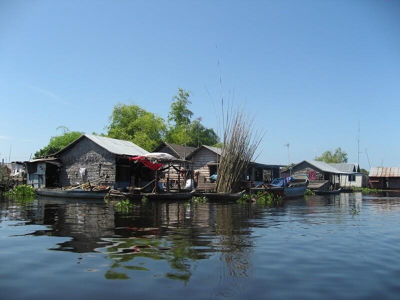 Cambodja, Tonle Sap meer