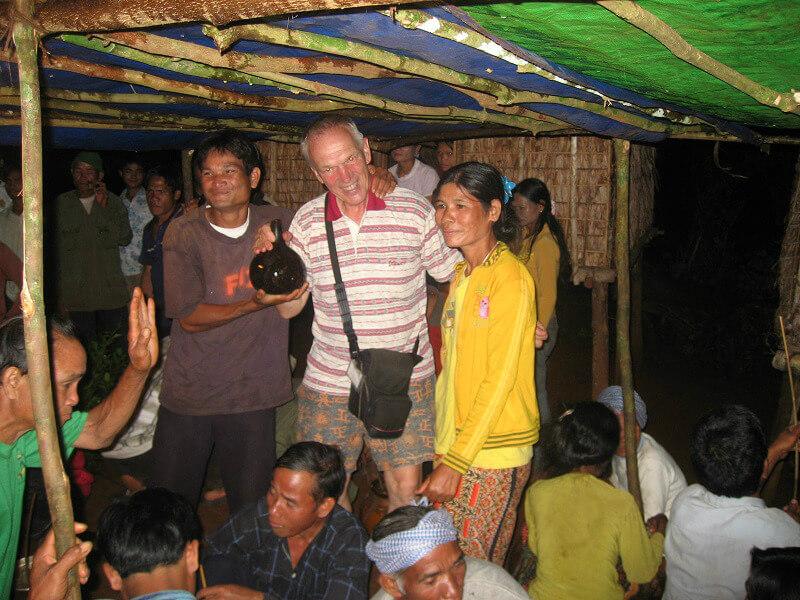 Backpacken Ratanakiri homestay bij locals