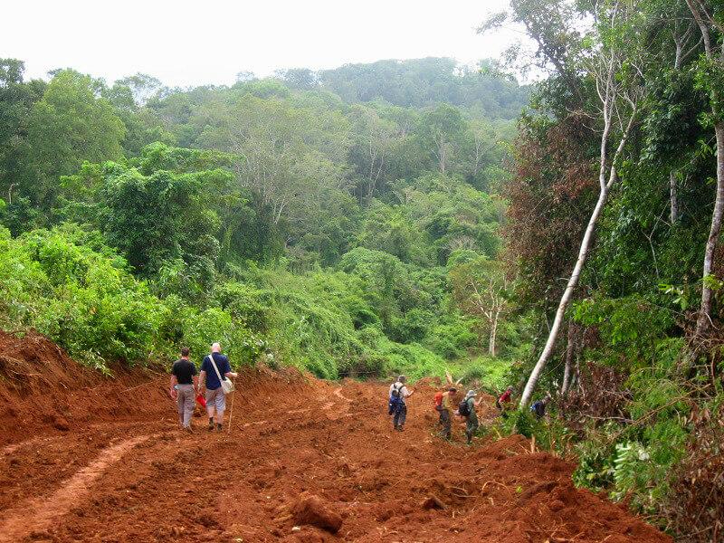 Backpacken Ratanakiri jungle trekking