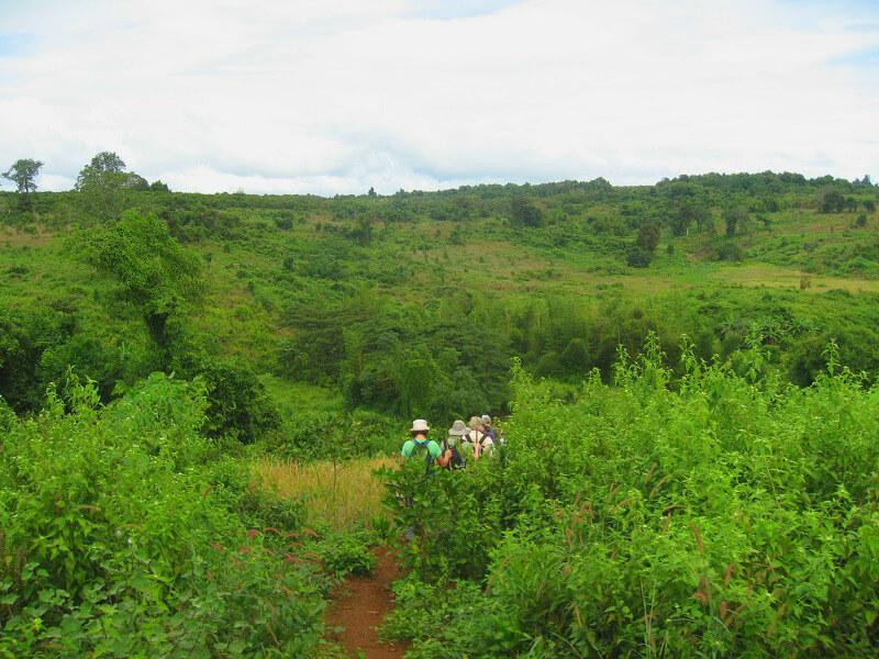 Backpacken Ratanakiri trekking