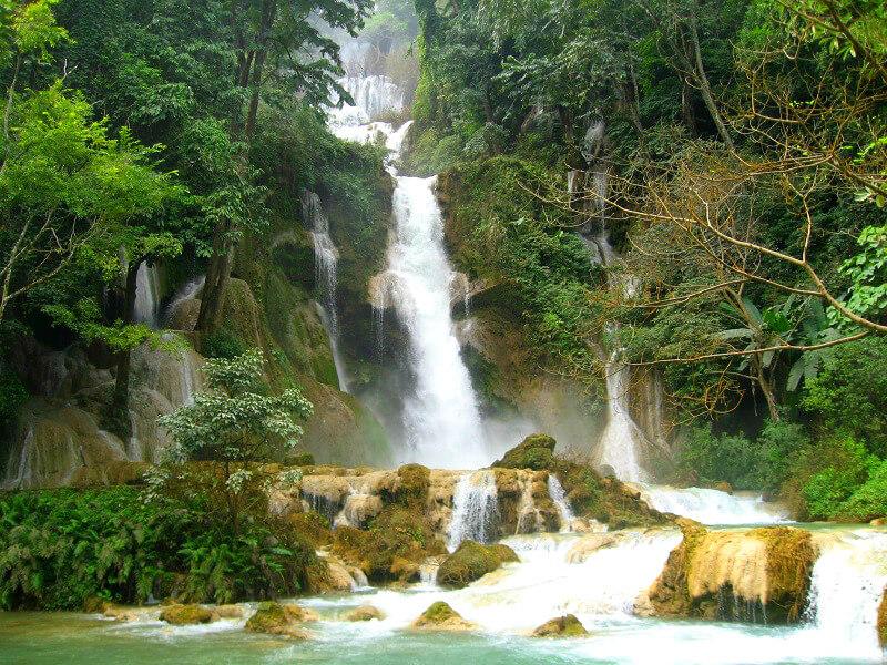 Luang Prabang Kwuang Xi watervallen