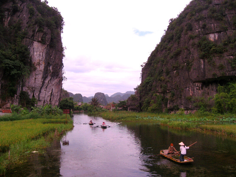 Backpacken Vietnam Ninh Binh