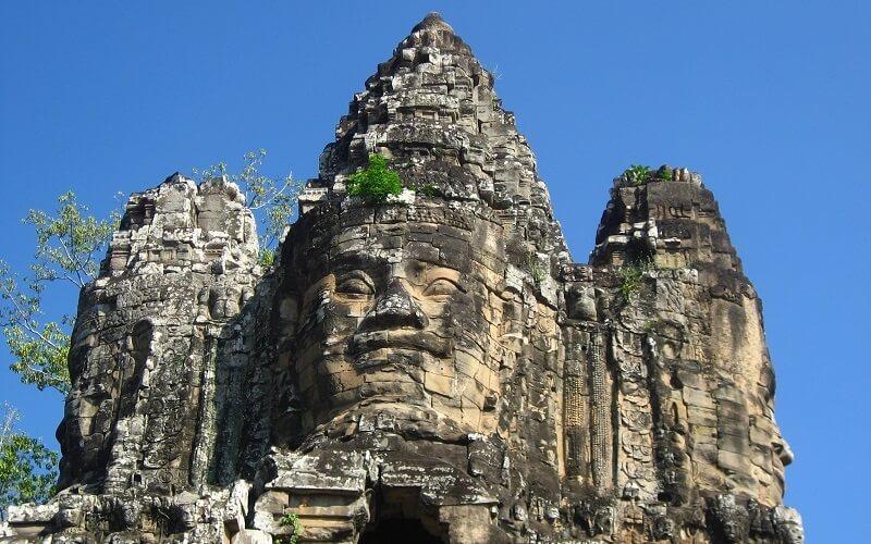 Bayon tempel in Siem Reap