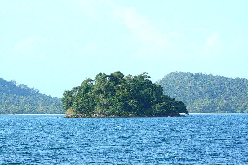 Eiland bij Koh Rong