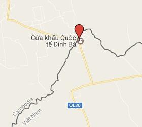 Grensovergang Banteay Chakrey - Tân Hộ Cơ,