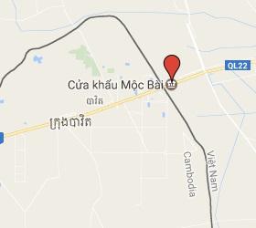 Grensovergang Bavet - Moc Bai