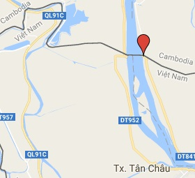 Grensovergang Chau Doc Kaam Samnor - Vinh Xuong