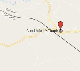 Grensovergang O Yadaw - Le Thanh