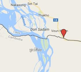 Grensovergang Trapaeng Kriel - Nong Nok Khiene - Veun Kham