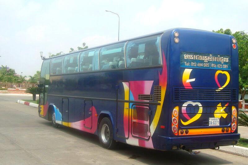 Bus Phnom Penh naar Ho Chi Minh