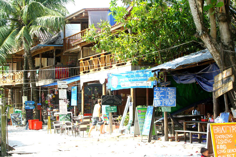 Koh Rong restaurants