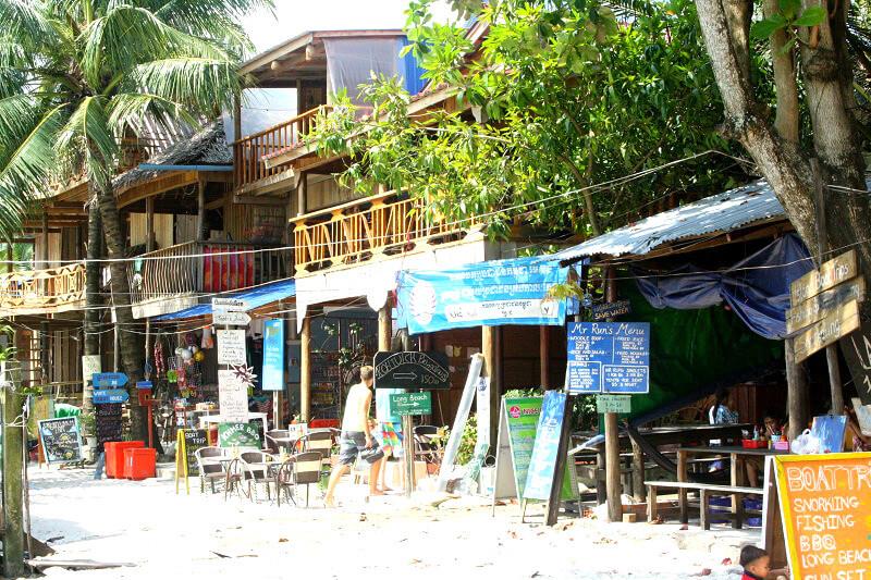 Koh Rong restaurants