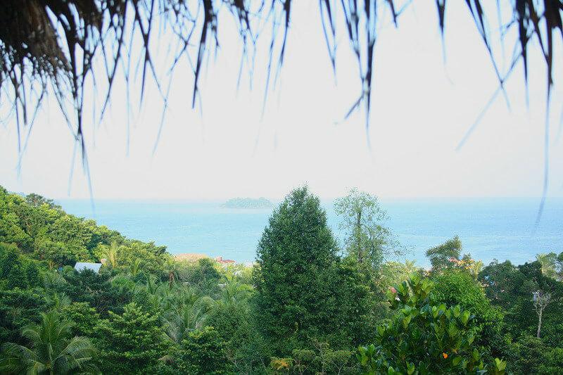 Uitzicht Koh Rong