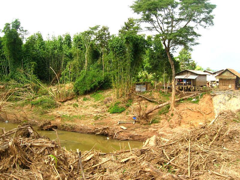 Laos overstroming
