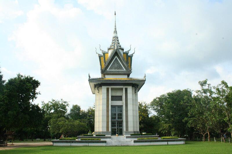 Phnom Penh killing fields van Choenug Ek