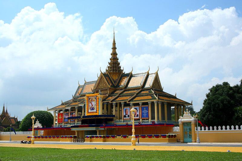 Phnom P enh koninklijk paleis