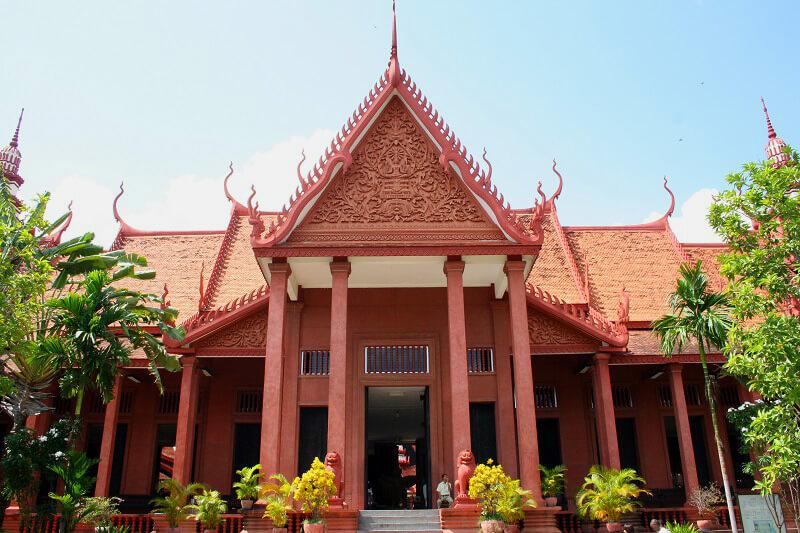 Phnom Penh nationaal museum