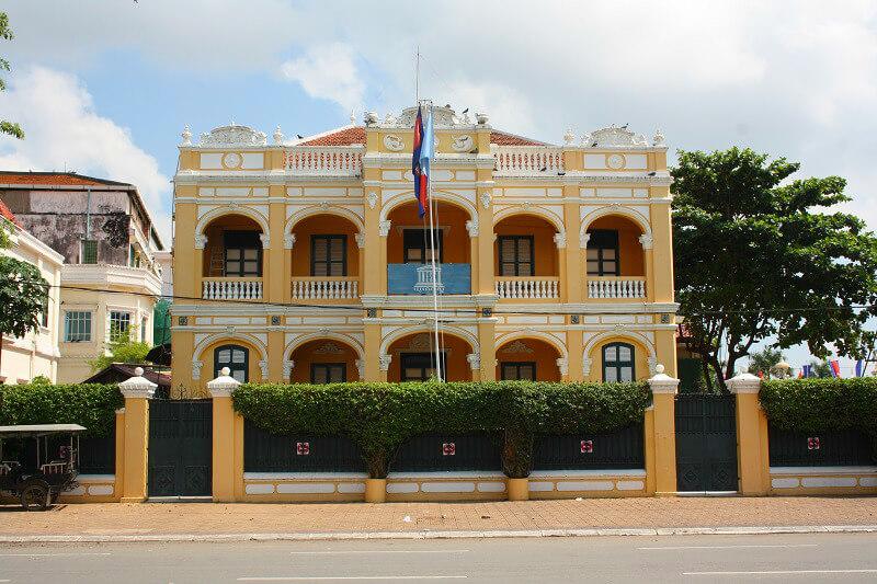 Phnom Penh UNESCO gebouw