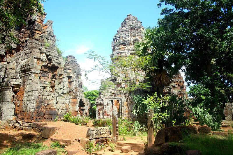 Reistips backpacken Battambang Wat Banan