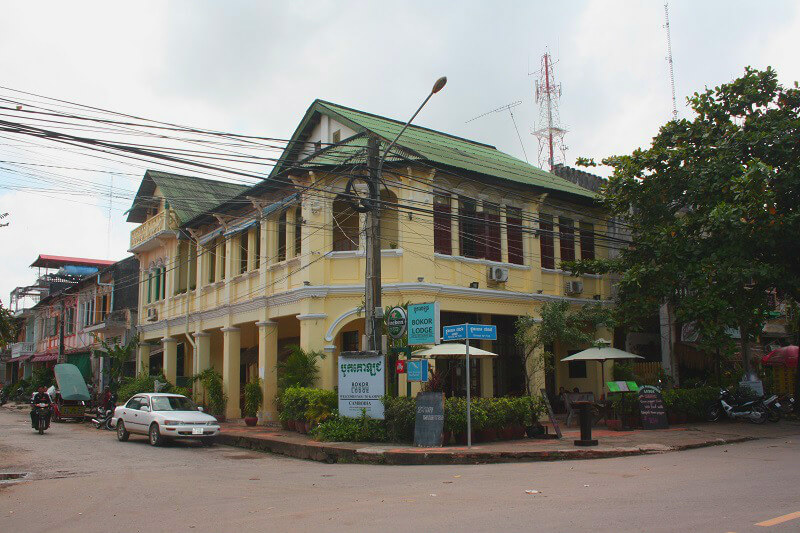 Reistips backpacken Kampot koloniaal Frans huis