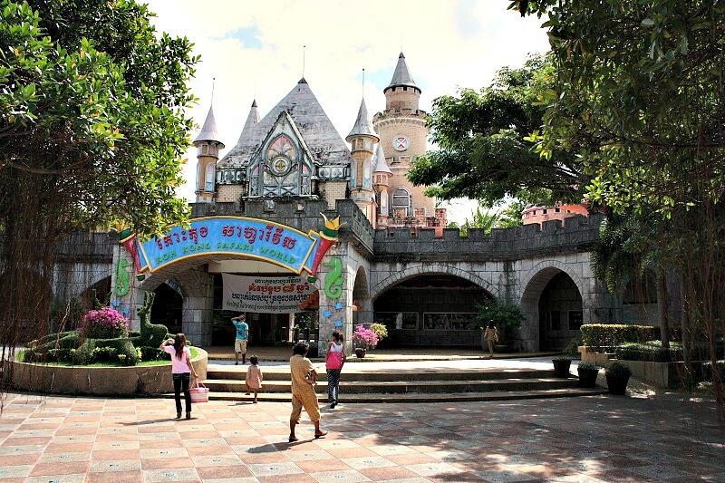 Reistips backpacken Koh Kong pretpark