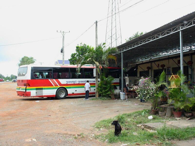 Backpacken Siem Reap reistips bus
