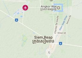 Siem Reap vliegveld Angkor International
