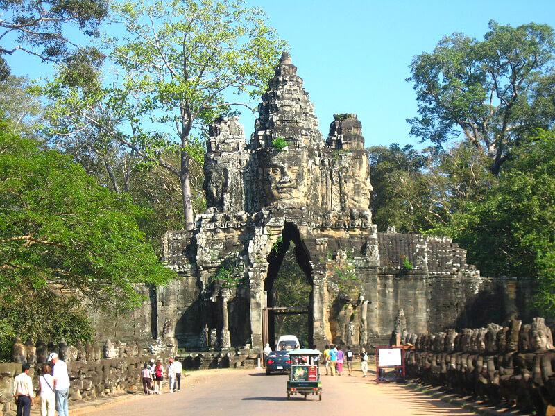 Zuidpoort Angkor Thom