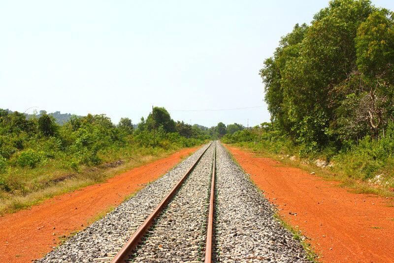 Spoorlijn in Cambodja