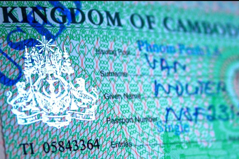 Visum voor Cambodja kopen