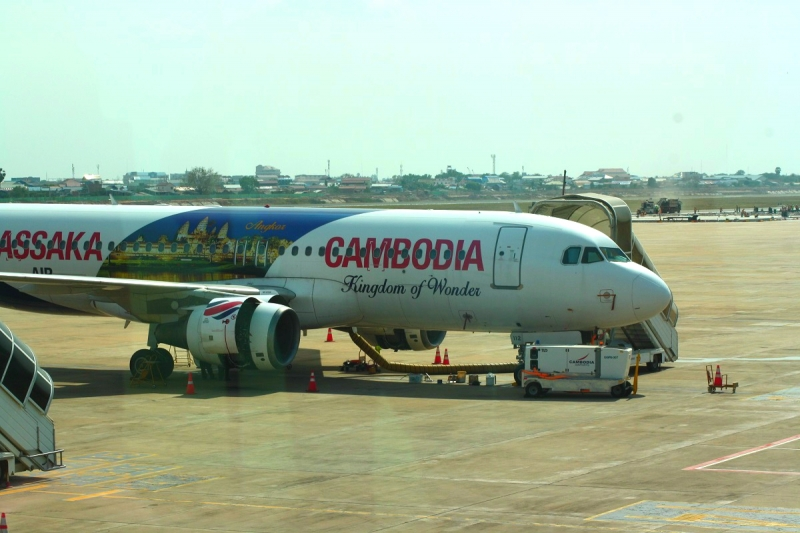 Vliegvelden in Cambodja