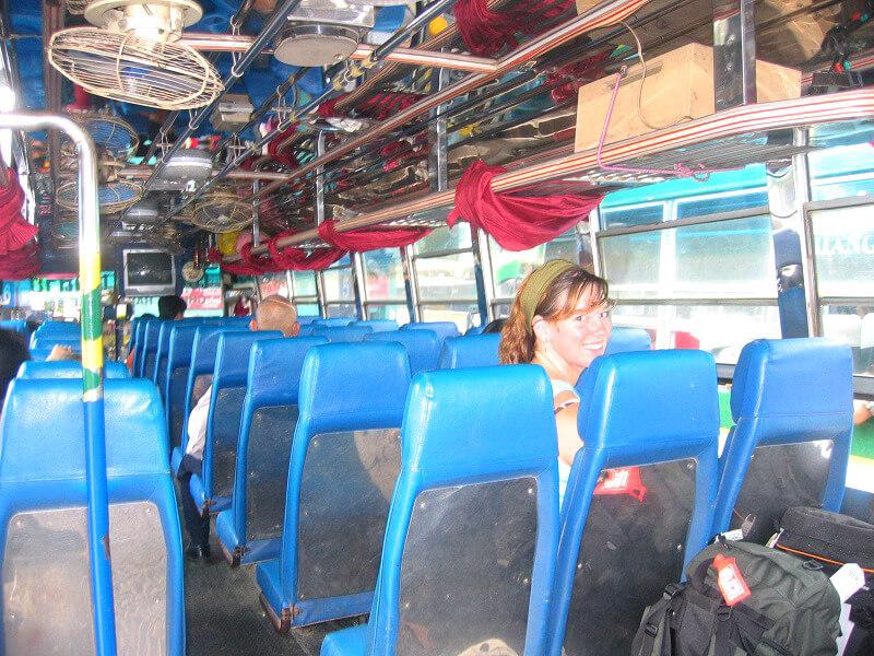 Backpacken Chiang Rai reistips locale bus