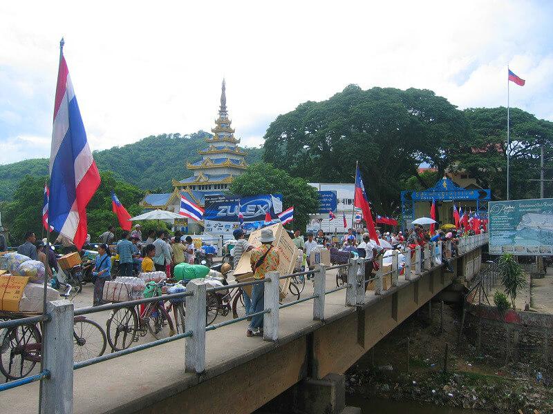 Backpacken Chiang Rai reistips Mae Sai grens