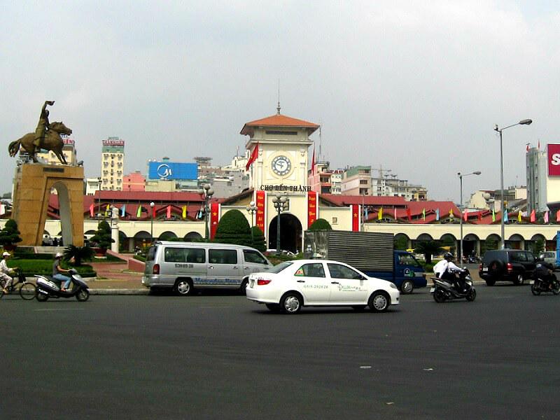 Backpacken Ho Chi Minh stad Ben Thanh markt