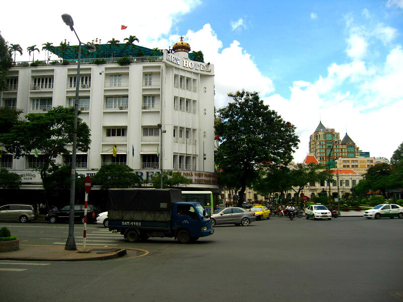 Backpacken Ho Chi Minh stad Rex hotel