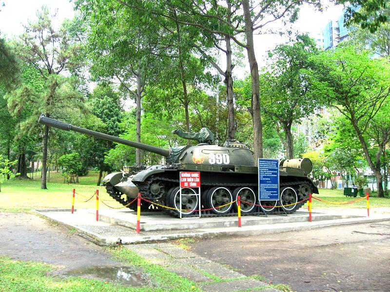 Backpacken Ho Chi Minh stad war remnants museum