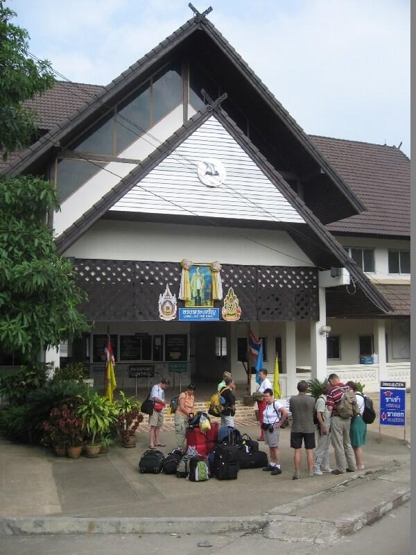 Ban Huay Xai Thais Laotiaanse grens