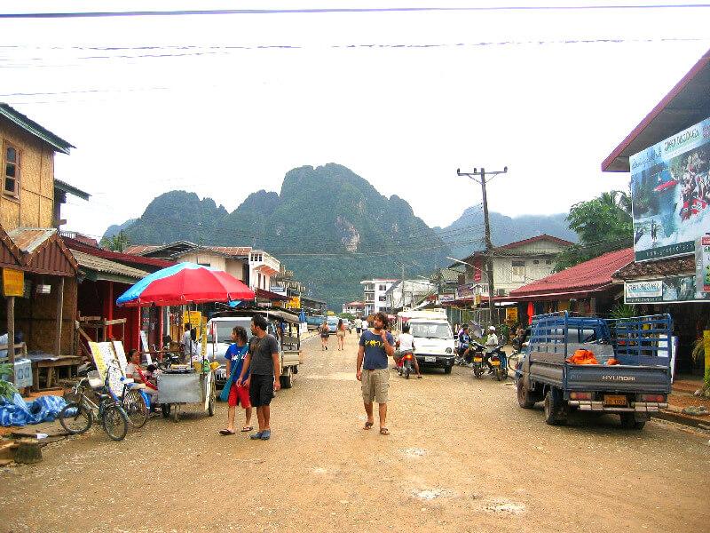 Backpacken in Vang Vieng