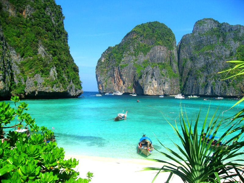 Backpacken Koh Phi Phi Leh Maya Bay