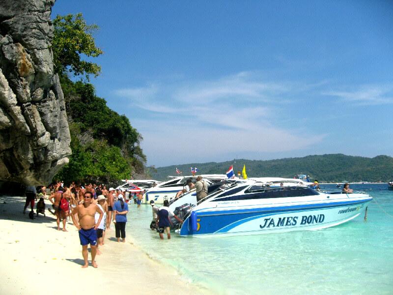 Backpacken Koh Phi Phi Leh Monkey Beach