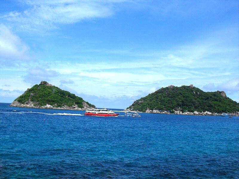 Backpacken Koh Tao reistips fast ferry
