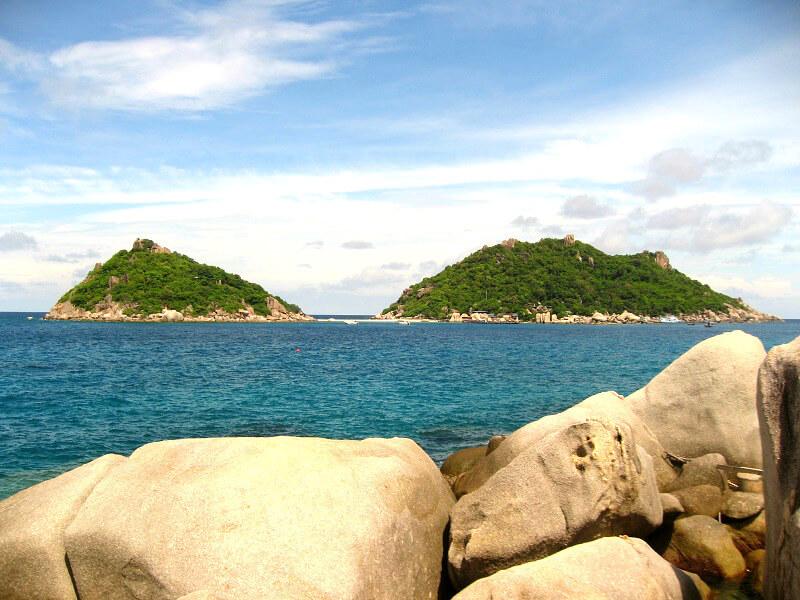 Backpacken Koh Tao reistips Nang Yuan eiland