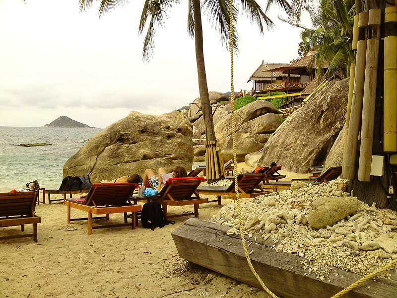 Backpacken Koh Tao reistips resort