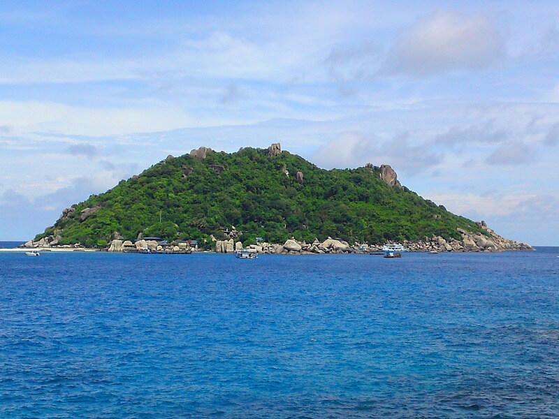 Backpacken Koh Tao reistips Shark island