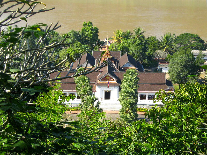 Backpacken in Laos koninklijk paleis
