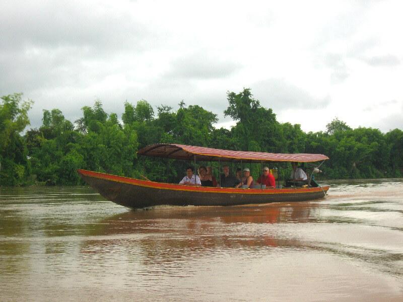 Backpacken Laos Si Phan Mekong rivier