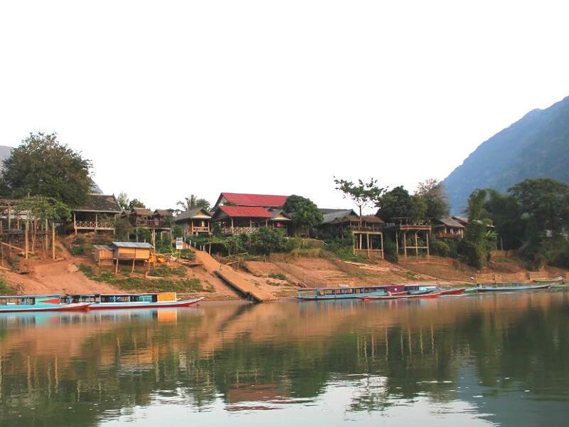Backpacken Muang Ngoi Neua reistips Nam Ou