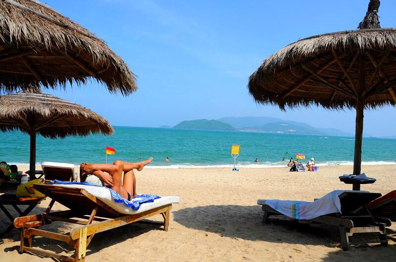 Backpacken Nha Trang Reistips strand