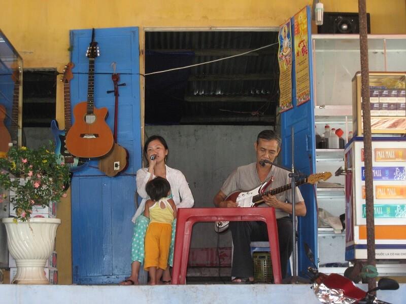Backpacken Vietnam Phu Quoc restaurant