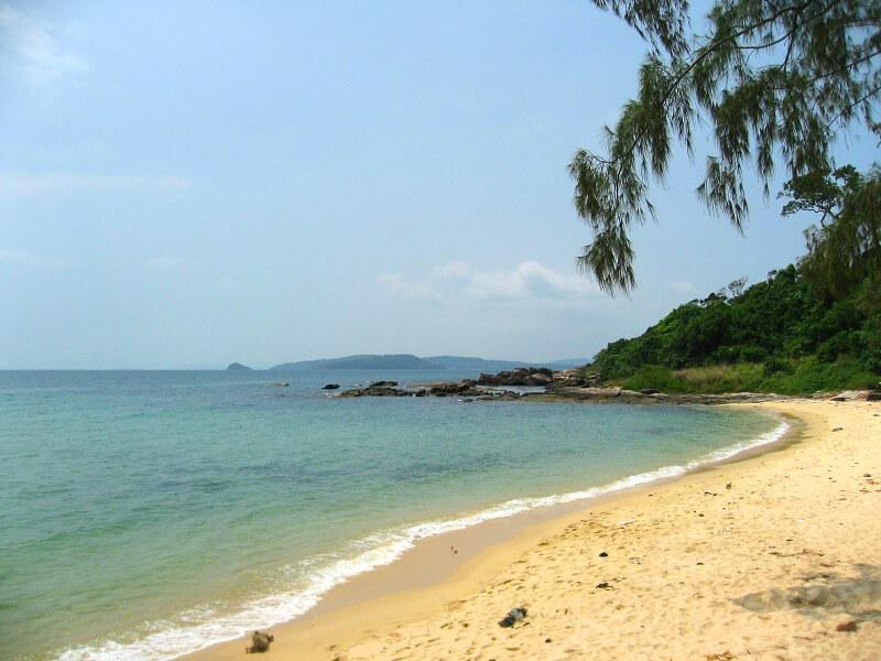Backpacken Vietnam Phu Quoc strand